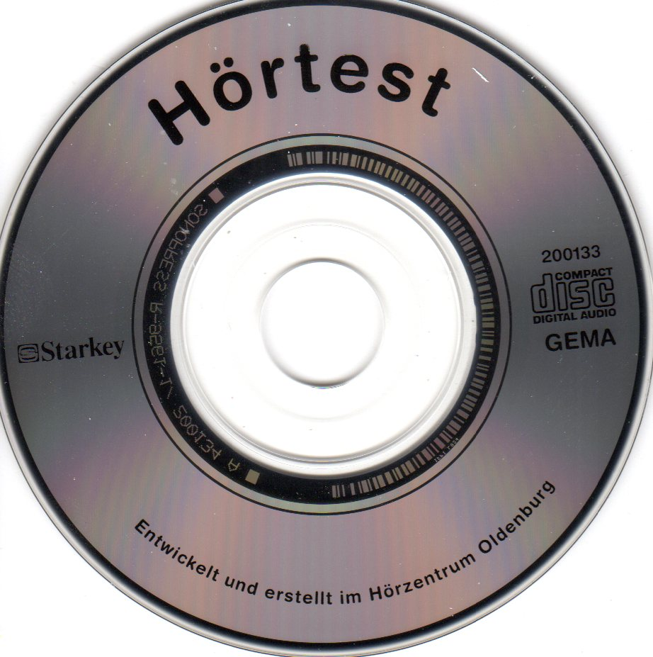 Hörtest-Mini-CD